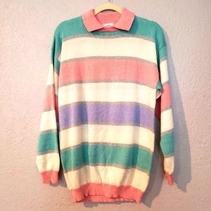 Sunny South Dallas Vintage 80's Sweater - M